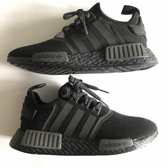 NEW Adidas NMD *ALL BLACK*